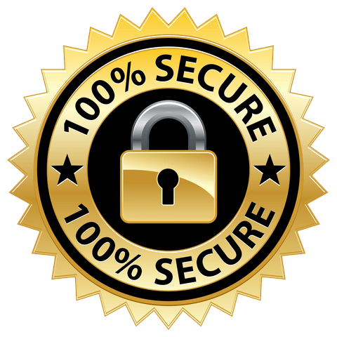 100% safe and secure